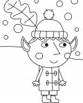 Ben & Holly's Little Kingdom Printable coloring pages for girls