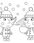Ben & Holly's Little Kingdom Printable coloring pages online
