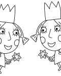 Ben & Holly's Little Kingdom Free Online Coloring Pages