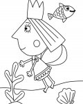Ben & Holly's Little Kingdom Online Coloring Pages for girls