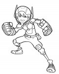 Big Hero 6 Online Coloring Pages for girls