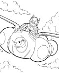 Big Hero 6 Free Coloring Pages