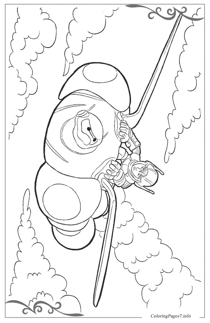 Big Hero 6 Free Coloring Pages For Kids