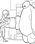 Big Hero 6 Coloring Pages for boys