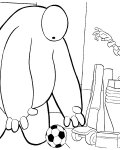 Big Hero 6 Free coloring pages for boys