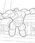Big Hero 6 Download coloring pages