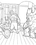 Big Hero 6 Download and print coloring pages for kids
