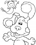 Blue's Clues Coloring Page for your Little Ones