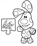 Blue's Clues Printable coloring pages online