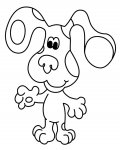 Blue's Clues Online Coloring Pages for boys