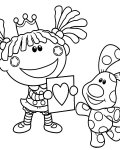 Blue's Clues Free printable coloring pages