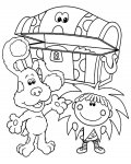 Blue's Clues Download and print coloring pages for kids