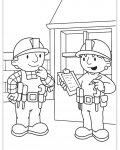 Bob the Builder Coloring Page for your Little Ones