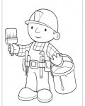 Bob the Builder Printable coloring pages for girls