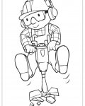 Bob the Builder Printable coloring pages online