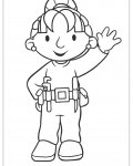Bob the Builder Free Online Coloring Pages