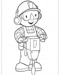 Bob the Builder Online Coloring Pages for boys