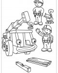 Bob the Builder Free printable coloring pages