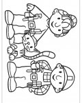 Bob the Builder Online Coloring Pages for girls