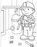 Bob the Builder Free Coloring Pages