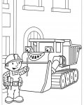 Bob the Builder Coloring page template printing
