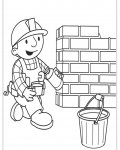 Bob the Builder Coloring Pages for boys