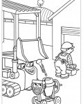 Bob the Builder Free coloring pages for boys