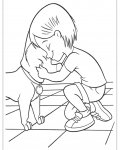 Bolt Printable Coloring Pages