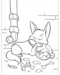 Bolt Coloring Page for your Little Ones