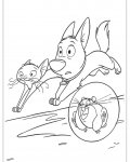 Bolt Printable coloring pages for girls