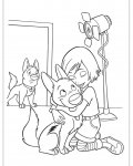 Bolt Free printable coloring pages