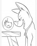 Bolt Coloring page template printing