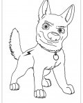 Bolt Coloring Pages for boys