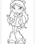 Bratz Coloring Page for your Little Ones