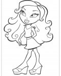 Bratz Printable coloring pages for girls