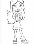 Bratz Free printable coloring pages
