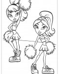 Bratz Download and print coloring pages for kids