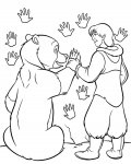 Brother Bear Сoloring pages for girls