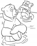 Brother Bear Printable coloring pages for girls
