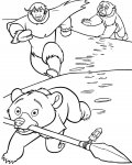 Brother Bear Coloring Pages for boys