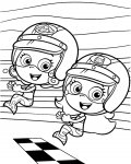 Bubble Guppies Online Coloring