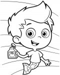 Bubble Guppies Printable coloring pages online