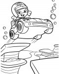 Bubble Guppies Free Online Coloring Pages