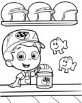 Bubble Guppies Online Coloring Pages for girls