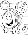 Bubble Guppies Free Coloring Pages
