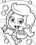 Bubble Guppies Coloring page template printing