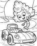 Bubble Guppies Download coloring pages