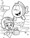 Bubble Guppies Download and print coloring pages for kids