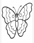 Butterflies Coloring Page for your Little Ones