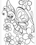 Butterflies Printable coloring pages online